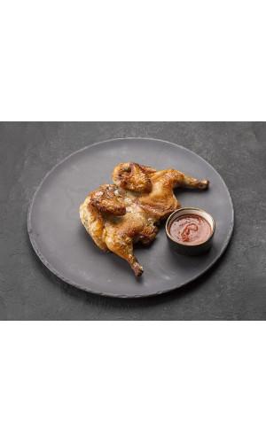Цыпленок табака в прованских травах
