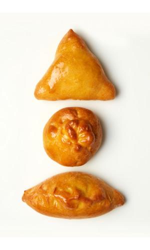 Пирожки с капустой (2 шт.)