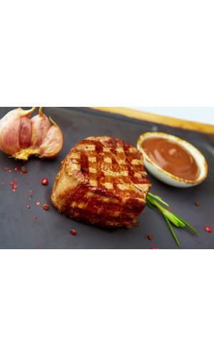 Стейк из говяжьей вырезки с соусом порто