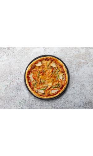 Пицца по-домашнему с цыплёнком