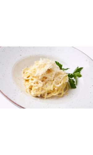 Спагетти с сыром в сливочном соусе